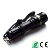 High Power CREATES Q5 LED Flashlight Torch 18650 Adjustable Flashlight