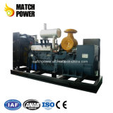 Planta usar conjunto de generador diesel de 300kw Weichai con ISO9001 aprobado