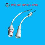 白い拡張ワイヤーLED 2 Pin 3 Pinの防水コネクター