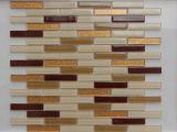 Mosaïque murale linéaire/Crystal/Mosaïque Mosaïque de verre/bande de tuiles de mosaïque