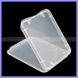 Caixa de cartão de memória CF Card Box Transparente Eco-Friendsly
