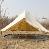 Outdoor Luxury Camp-site Hotel 5m Bell Canvas Tent Tipi Tent