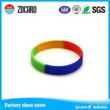 Wristband variopinto e registrabile del silicone RFID