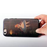 con 3D Patrón de rejilla cambiable Caso Iml Teléfono