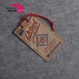 заводская цена крафт-бумаги или подвесьте Tag/цветная прозрачная метка бумаги ощупывания
