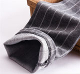 La mode fille du coton jambières à rayures (20222)