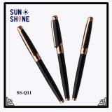 新型デザイン金属のローラーのペンの事務用品のロゴのペン