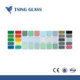 Aangepaste Druk Silkscreen/Achter Geschilderd Glas/Patroon Aangemaakt Glas voor de Decoratie van het Venster/van de Deur/van de Lijst