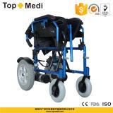 Topmedi leichte leistungsfähige Schreibtisch-Armlehnen-Energien-elektrischer Rollstuhl