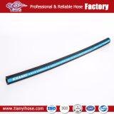 Flexible hydraulique SAE R1 R2 R3 R5 R6 R8 R12 R13, haute température hydraulique flexible en caoutchouc