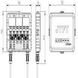 Boite de jonction étanche solaire IP67 Panneaux de câbles PV