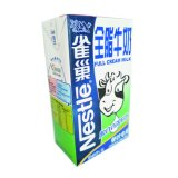 Cartons d'emballage de lait