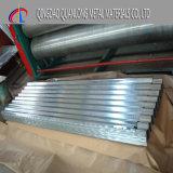 Dx51d горячей ближний свет оцинкованный гофрированный стальных листа крыши
