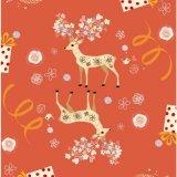 Verpackenpapier für die Weihnachtsgeschenk-Verpackung