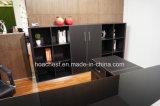 Neue Art-moderner Leder MDF-Fernsehapparat-Schrank-Büro-Schrank (C8)