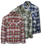 Мужчин в стране стеганая рубашка работы с мягкими вставками