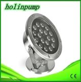 Éclairages LED sous-marins de la CE de la Chine de piscine d'éclairage LED de la couleur IP68 multi imperméable à l'eau approuvée de lampe pour les fontaines (HL-PL18)