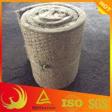 Materiale di isolamento del tubo delle lana di scorie con la rete metallica