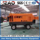 Type diesel de vis mobile de prix usine de la Chine pompe de compresseur d'air pour la roche de pierre de foret d'exploitation