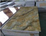 PVDFはPVC/Decorative/Plasticの装飾のための大理石の効果の壁パネルを耐火性にする