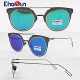 Gafas de sol de las muchachas del icono de la manera con la lente de la CA (KS1230)