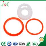 실리콘고무, FKM 고무, 녹색, 식품 산업을%s 까만 O-Rings