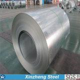 Le zinc a enduit la bobine en acier galvanisée en acier Dx51d 52D d'IMMERSION chaude de bobine