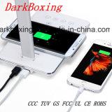 Chargeur rapide sans fil mobiles d'urgence avec aucune table de la lampe stroboscopique