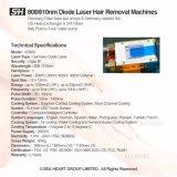 La tecnología de refrigeración Micro Channel 810/808nm Depilación Láser de diodo