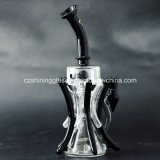 Fabrik-Preis Inline-Perc rauchendes Wasser-Glasrohr mit Baum-Zweig