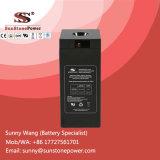 Долгий срок службы 2V 300Ah неподвижной герметичный гель свинцово-кислотного аккумулятора