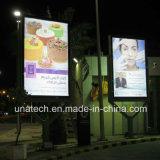 革新的な屋外媒体のメッシュ生地の印のスクローリング画像Lightboxを広告する閉じる駐車場