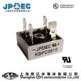 De Gelijkrichter van de Brug van de Halfgeleiders van Shanghai Qiyi Kbpc 3510 de Levering van de Macht van de Diode van de Gelijkrichter 35A1000V