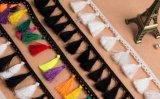 衣服および装飾のための卸し売り方法ふさのレースのフリンジ