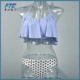 Le maillot de bain de femmes de vêtements de bain de bikini soulèvent l'été réglé de bikini