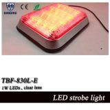 9 * 7 polegadas branco e amber Split Color Ambulance Surface Mount Warning Light (TBF-830L-E)