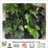 Vertikale hängende Pflanze wachsen Taschen des Beutel-7 für Blumen-Gemüse