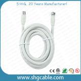 3c 2V Cable coaxial con conectores IEC macho TV F