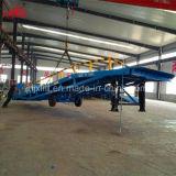 12tonne 1.1-1.8m hauteur ajustable chariot élévateur à fourche hydraulique de voiture les rampes de chargement avec la CE de la certification ISO