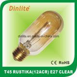 T45-12 (ACR) 40W 60W effacent l'ampoule de Rustika