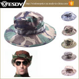 La caza de cubo sombreros de la pesca al aire libre sombreros de ala ancha Boonie militar