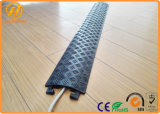 Gelb/Black Plastic Over Floor Cord 1 Channel Cable Protector für Electric Wire