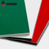 Ideabond 3-6mm cor dourada de luxo do painel composto de alumínio