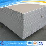 Placa de yeso estándar 1220*2440*9mm/Planchas para el techo y sistema Partiton