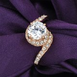 زفافيّ [18ك] نوع ذهب مجوهرات عرس [فينجر رينغ] لأنّ سيادة