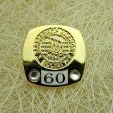 عالة معدن نوع ذهب ذكرى نوع ذهب شاشة مع كرة [بين]