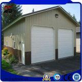 Construções de aço bonitas da segurança da grande extensão para a garagem