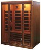 Sauna infrarrojo lejano 2016 para 3-4 personas-W3c