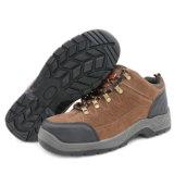 スエード革PUの注入の安全靴
