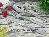 La vaisselle de table en acier inoxydable en acier inoxydable Ustensiles coutellerie en acier inoxydable